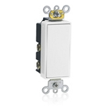 Leviton 5657 Decora SPDT Center Off Momentary Switch