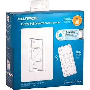 Lutron Caseta 600W RF Dimmer and Pico Remote