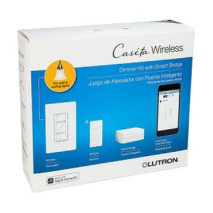 Lutron Caseta Bridge Kit Wall Dimmer